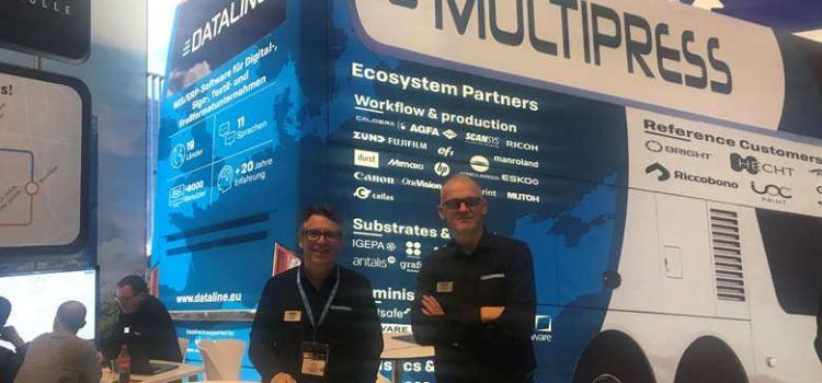 Dataline highlights latest MultiPress features at Fespa
