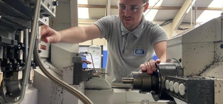 CNC apprentice is key to Cannock's firm's ventilator push